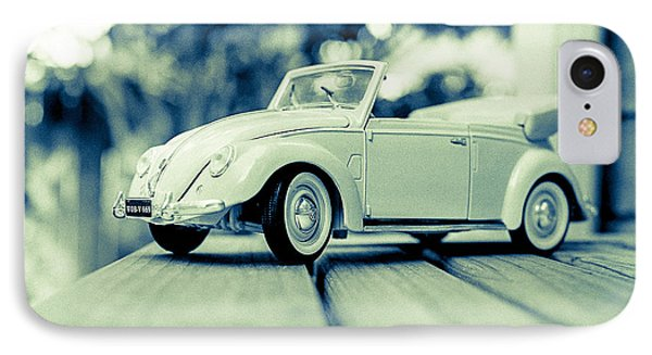 Vw Beetle Convertible IPhone Case by Jon Woodhams