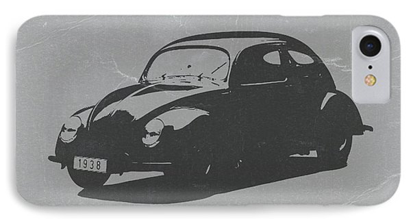 Vw Beetle IPhone Case by Naxart Studio