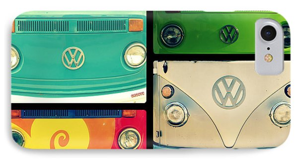 Vw Collage IPhone Case by Robin Dickinson