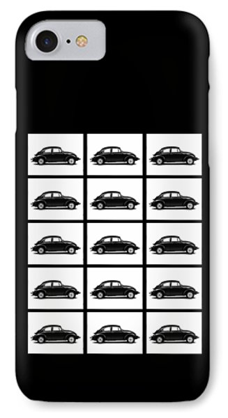 Vw Theory Of Evolution IPhone Case by Mark Rogan