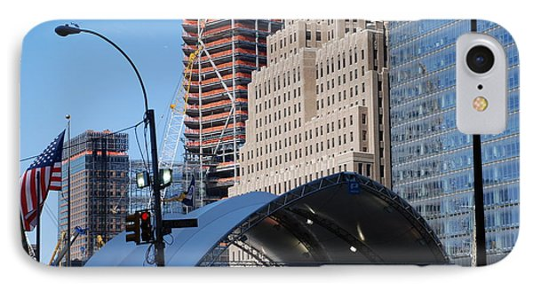 W T C Path Station Phone Case by Rob Hans