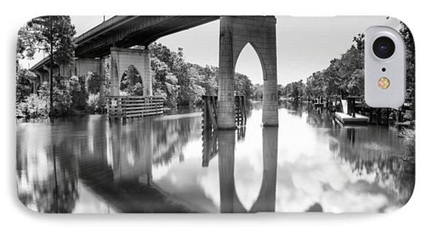 Waccamaw River Memorial Bridge IPhone Case