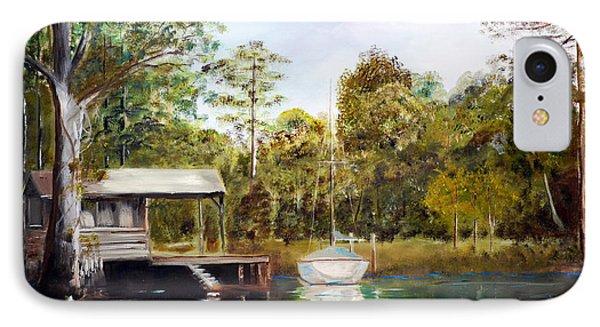 Waccamaw River Sloop Phone Case by Phil Burton