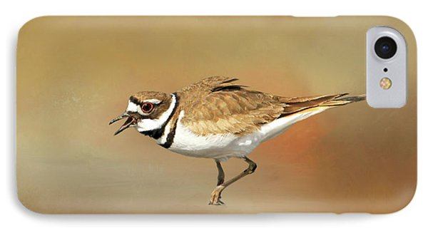 Wading Killdeer IPhone 7 Case by Donna Kennedy