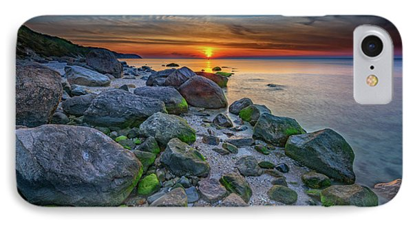 Wading River Sunset IPhone Case by Rick Berk