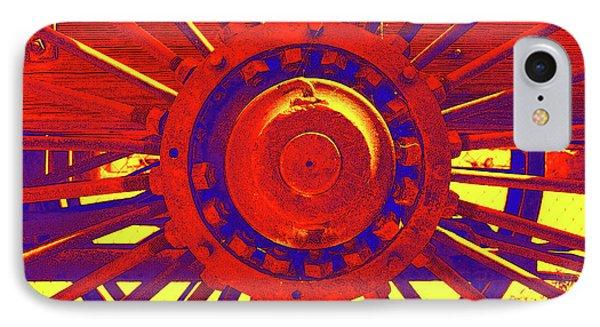 Wagon Wheel Phone Case by Cynthia Powell