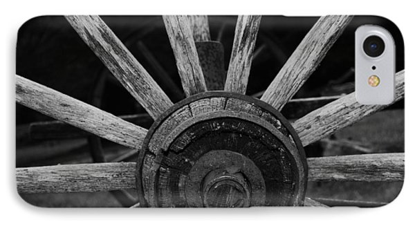 Wagon Wheel IPhone Case by Eric Liller