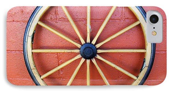 Wagon Wheel IPhone Case by John S