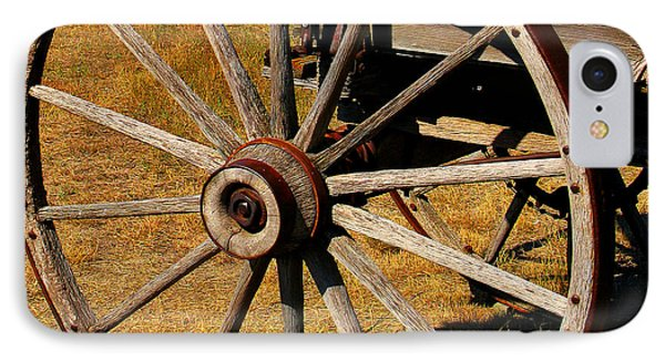 Wagon Wheel Phone Case by Perry Webster