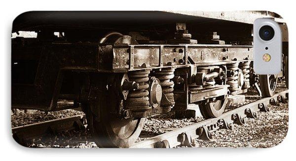 Wagon Wheels IPhone Case by Steven Sexton