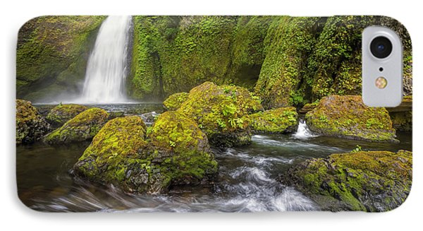Wahclella Falls Phone Case by David Gn