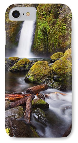 Wahclella IPhone Case by Mike  Dawson