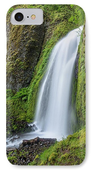 Wahkeena Falls IPhone Case by Greg Nyquist