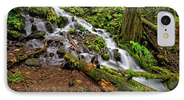 Wahkeena Falls IPhone Case by Jonathan Davison