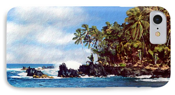 Waianapanapa Maui Hawaii Phone Case by Kurt Van Wagner