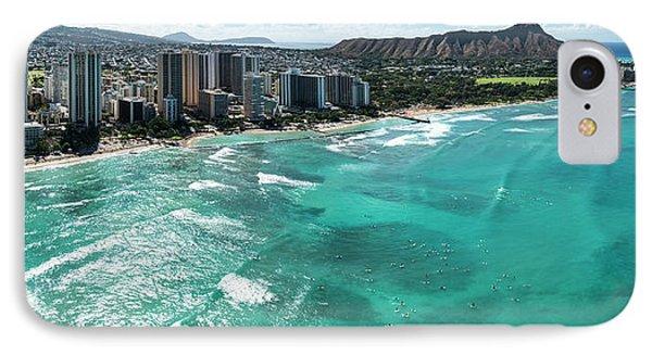 Waikiki To Diamond Head IPhone Case