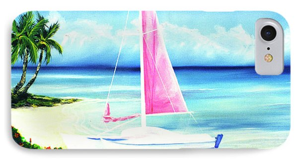 Waimanalo Beach #187 Phone Case by Donald k Hall