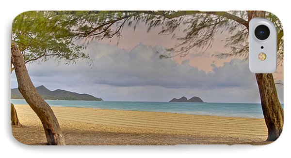 Waimanalo Beach IPhone Case