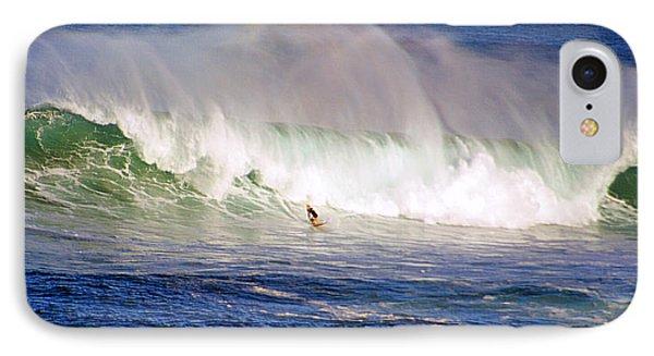 Waimea Bay Wave Phone Case by Kevin Smith