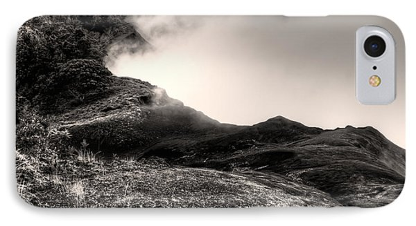 Waimea Early Morning Fog IPhone Case by Natasha Bishop