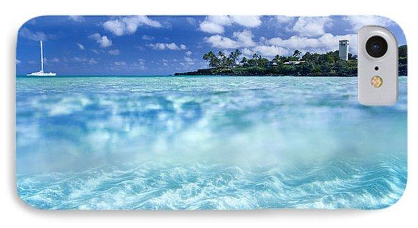 Waimea Pool IPhone Case by Sean Davey