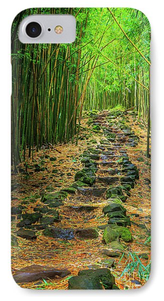 Waimoku Bamboo Forest #2 IPhone Case by Inge Johnsson