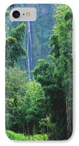 Waimoku Falls Phone Case by Dave Fleetham - Printscapes