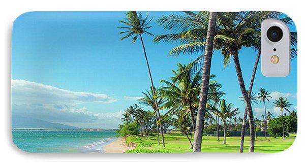 IPhone Case featuring the photograph Waipuilani Beach Kihei Maui Hawaii by Sharon Mau