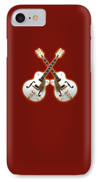 Waite Gretsch Phone Case by Doron Mafdoos