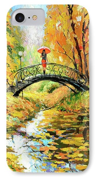 IPhone Case featuring the painting Waiting by Dmitry Spiros