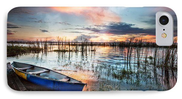 Waiting For Dawn IPhone Case by Debra and Dave Vanderlaan