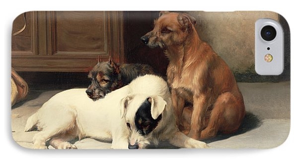 Waiting For Master IPhone Case by William Henry Hamilton Trood