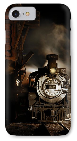 Waiting For More Coal IPhone Case by Ken Smith