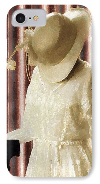 Waiting For Mr. Right Phone Case by RC deWinter