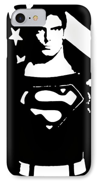 Waiting For Superman IPhone Case by Saad Hasnain