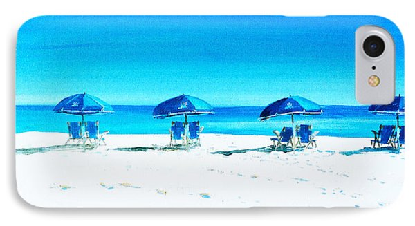 Waiting For The Beach Sitters IPhone Case