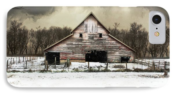 Waiting For The Storm To Pass IPhone Case by Julie Hamilton