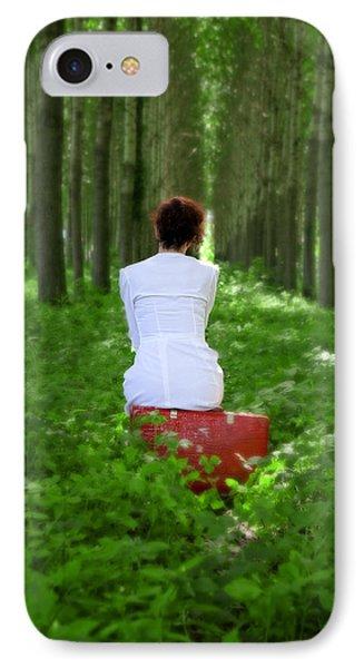 Waiting Phone Case by Joana Kruse