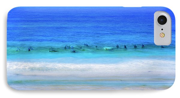 Waiting On A Wave IPhone Case by Joseph S Giacalone