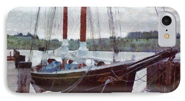 Waiting To Sail Phone Case by Jeff Kolker