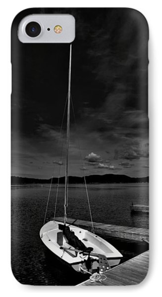 Waiting To Sail On Fourth Lake IPhone Case
