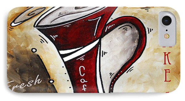 Wake Up Call Original Painting Madart Phone Case by Megan Duncanson