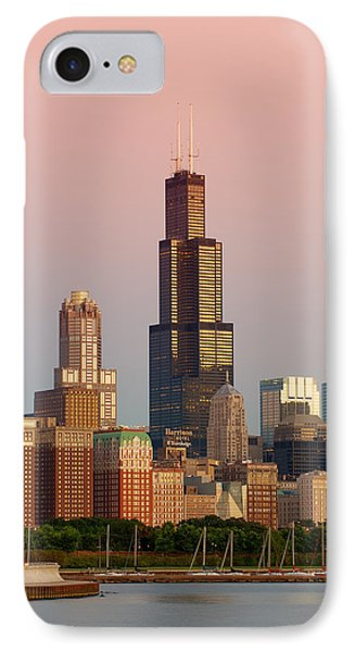 Wake Up Chicago IPhone Case by Sebastian Musial