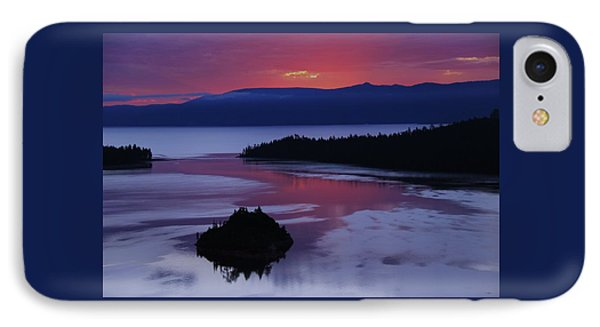 Wake Up In Lake Tahoe  IPhone Case by Sean Sarsfield