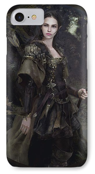 Waldelfe IPhone Case by Eve Ventrue