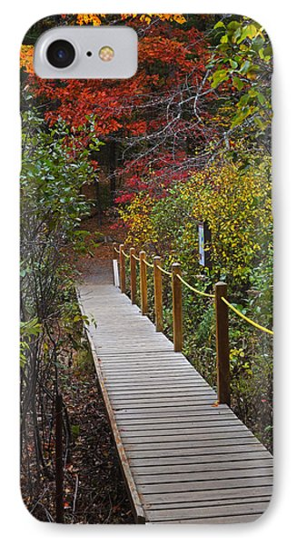 Walden Pond Footbridge Concord Ma IPhone Case by Toby McGuire