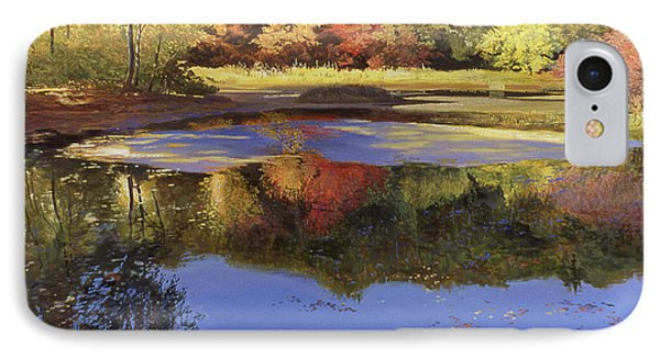 Walden Pond II IPhone Case by Art Chartow