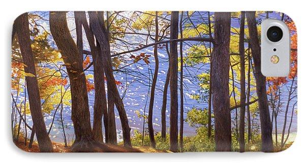 Walden Pond IIi Phone Case by Art Chartow