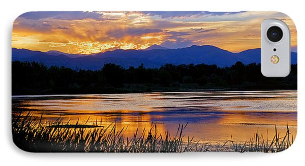 Walden Ponds Sunset 3 IPhone Case by Brian Kerls
