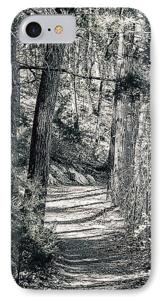 Walden Woods IPhone Case by Peter Schnabel